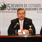 Costa Rica launches a call to reach 100 States Parties to the Convention on Cluster Munitions in 2015