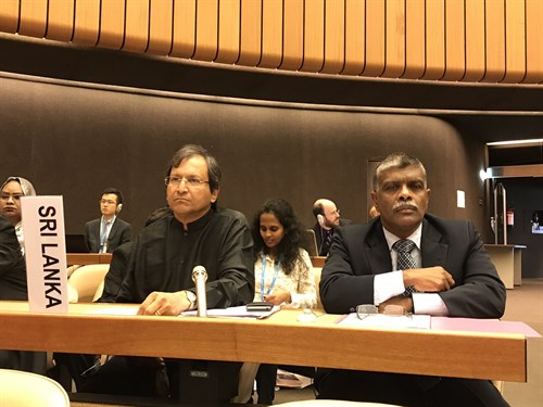 Sri Lanka announces plan to accede to the Convention on Cluster Munitions