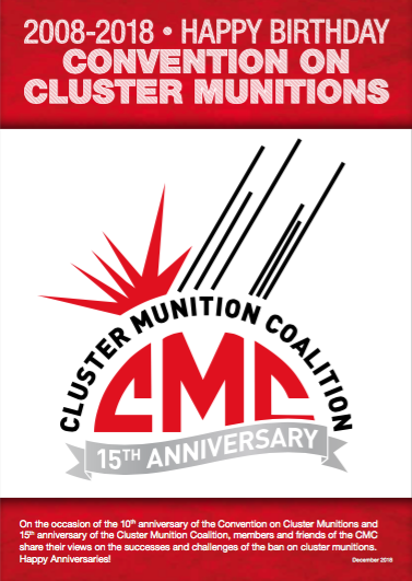 CMC Members Celebrate Convention on Cluster Munitions 10 Year Anniversary