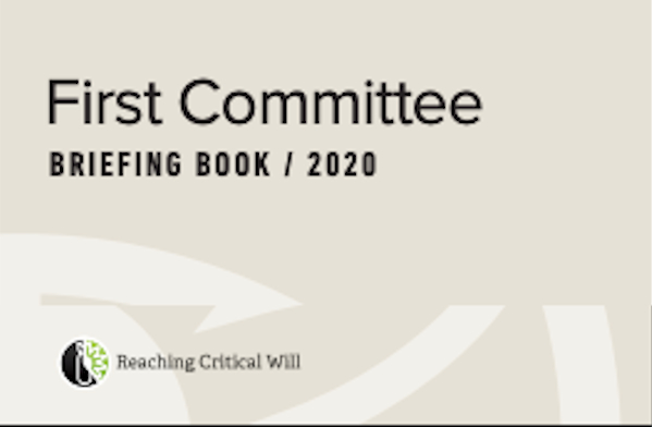 ICBL-CMC at 2020 First Committee